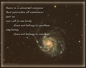 buddhist quotes and sayings, there is a universal oneness