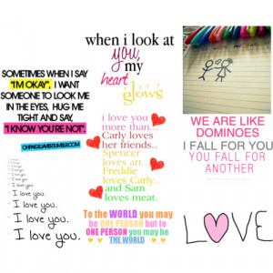 lovey dovey sayings - Polyvore