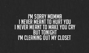 Sad Family Quotes Eminem sad family quotes
