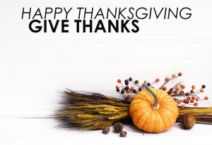 Happy Thanksgiving: Quotes about Gratitude