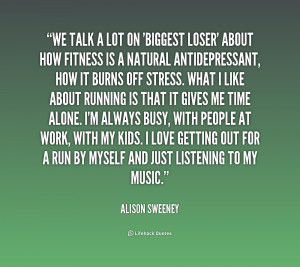 quote Alison Sweeney we talk a lot on biggest loser 232110 png