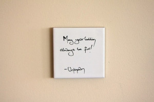 Sewing Bobbin Craft Quote Wall Tile Removable by zinniapea. , via Etsy ...