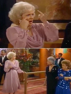 The Golden Girls, Bea Arthur, ... | Season 3, episode 2: ''One for the ...