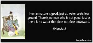 good human nature quotes
