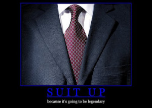 New Beginings, New Suits
