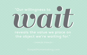 Our willingness to wait reveals the value we place on the object we're ...