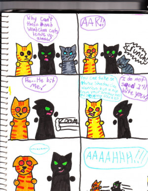 warriors funny comic 1 by Talyasaurus