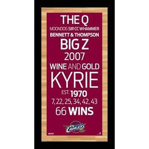 Cleveland-Cavaliers-Framed-16x32-Subway-Sign-Wall-Art-Historic-Sayings ...