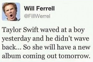 WILL FERRELL AND TAYLOR SWIFT —- Bestfunny, pics, humor, jokes ...