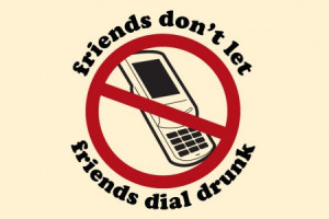 Re: drunk dial