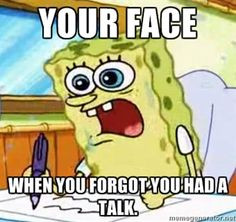 Spongebob What I Learned In Boating School Is - Your face When you ...