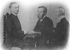 Bishop Hale, Archdeacon James Brown and Rev. William Mitchell . Early ...