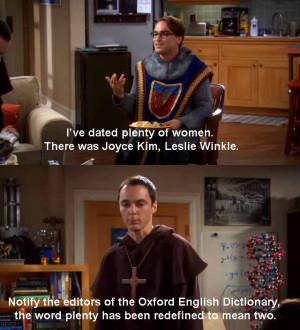 The Big Bang Theory tbbt quotes