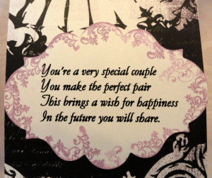 You're Very Special Couple, You Make The Perfect Pair, This Brings A ...