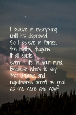 Beautiful Night Sky Quotes Beautiful, believe