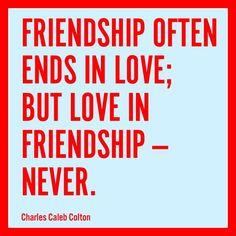 Friendship Vs Love ~ Friendship Wishes and Quotes — Friendship Vs ...