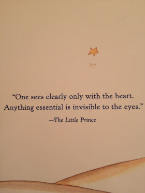 The Little Prince by Antoine de Saint-Exupéry - wonder if Antoine ...