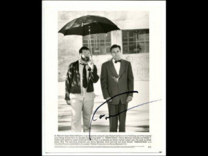 Robin Williams Awakenings Signed Autorgaph Photo With Robert De Niro