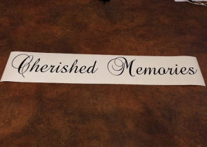 cherished Memories https://www.etsy.com/listing/200750968/cherished ...