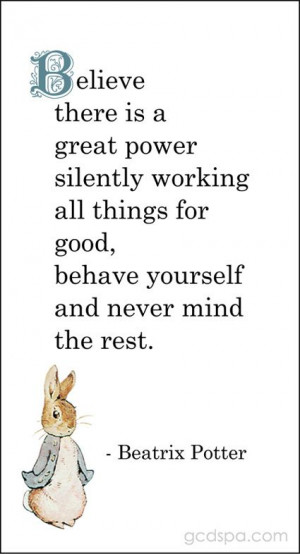 Beatrix Potter Peter Rabbit Quotes