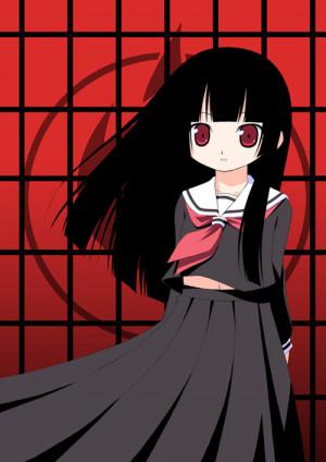 Jigoku Shoujo [anime], Ai Enma [tag], Artworks / Fanart [tag], loli ...