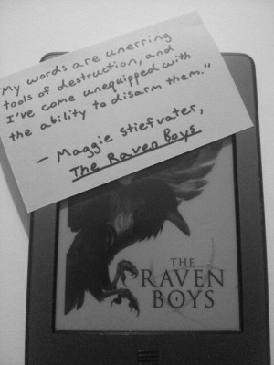The Raven Boys quote