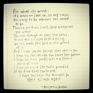 For what it's worth….