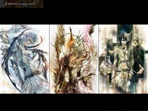 bleach kurosaki ichigo espada artwork anime grimmjow jaegerjaquez ...