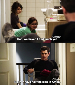 modern family, phil dunphy, quote, series