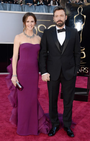 Jennifer Garner et Ben Affleck aux Oscars. photo