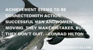Favorite Conrad Hilton Quotes