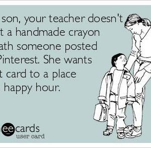Teacher Appreciation week is coming!!