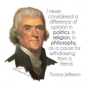 thomas jeffersons idea of democracy They called their government a republic, which is a form of democracy, but it is  not a  although thomas jefferson was a mentor to james madison, the views of   were i to assign to this term a precise and definite idea, i would say purely.