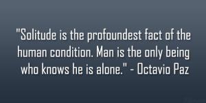 Octavio Paz Quote