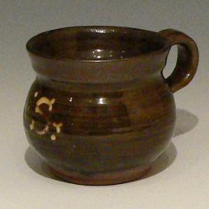 Leach Pottery pre-war slipware mug