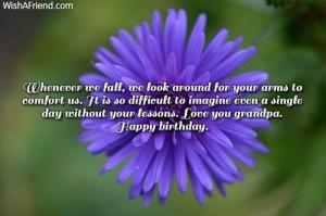 Happy Birthday Grandpa Quotes Happy birthday.
