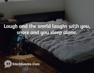 Funny Sleep Quotes Laugh