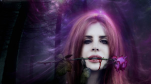 ... Tree Forest Hd Blood Music Rose Wood Lana Del Rey Entropy Wallpaper