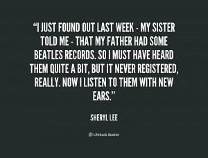 Sheryl Lee