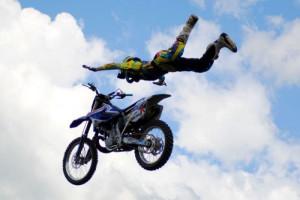 Motocross Rider Motorcycle