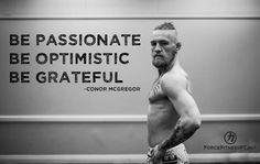Conor McGregor, UFC, MMA, Optimism, Focus, Quotes, Inspiration ...