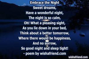 Nature Poems: Goodnight ️