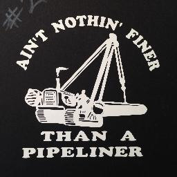 Ain/'t Nothing Finer Than A Pipeliner Window Decal Sticker Gloss White Vinyl