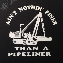 pipeliner side boom window decal ain t nothin finer than a pipeliner ...