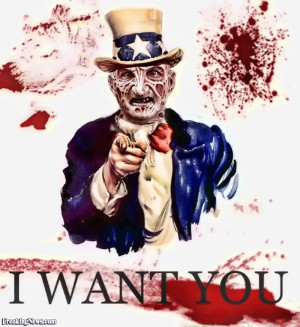 Funny Freddy Kruger Wants You