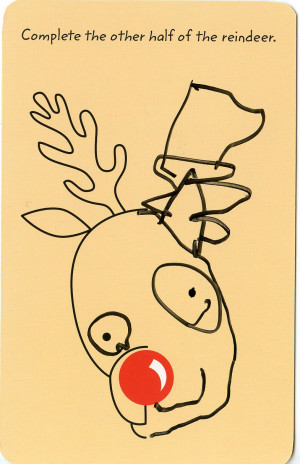 the adorable report – loopy reindeer snuggly sentiments