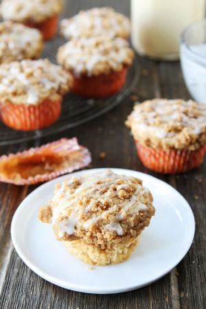 Christmas Eggnog Cake Eggnog coffee cake muffins