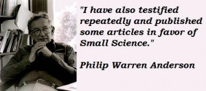 Philip warren anderson famous quotes 2