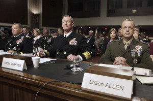 Adm. William H. McRaven (center) has called for more flexibility in ...