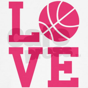 cute_love_basketball_girls_jr_raglan.jpg?color=PinkWhite&height=460 ...